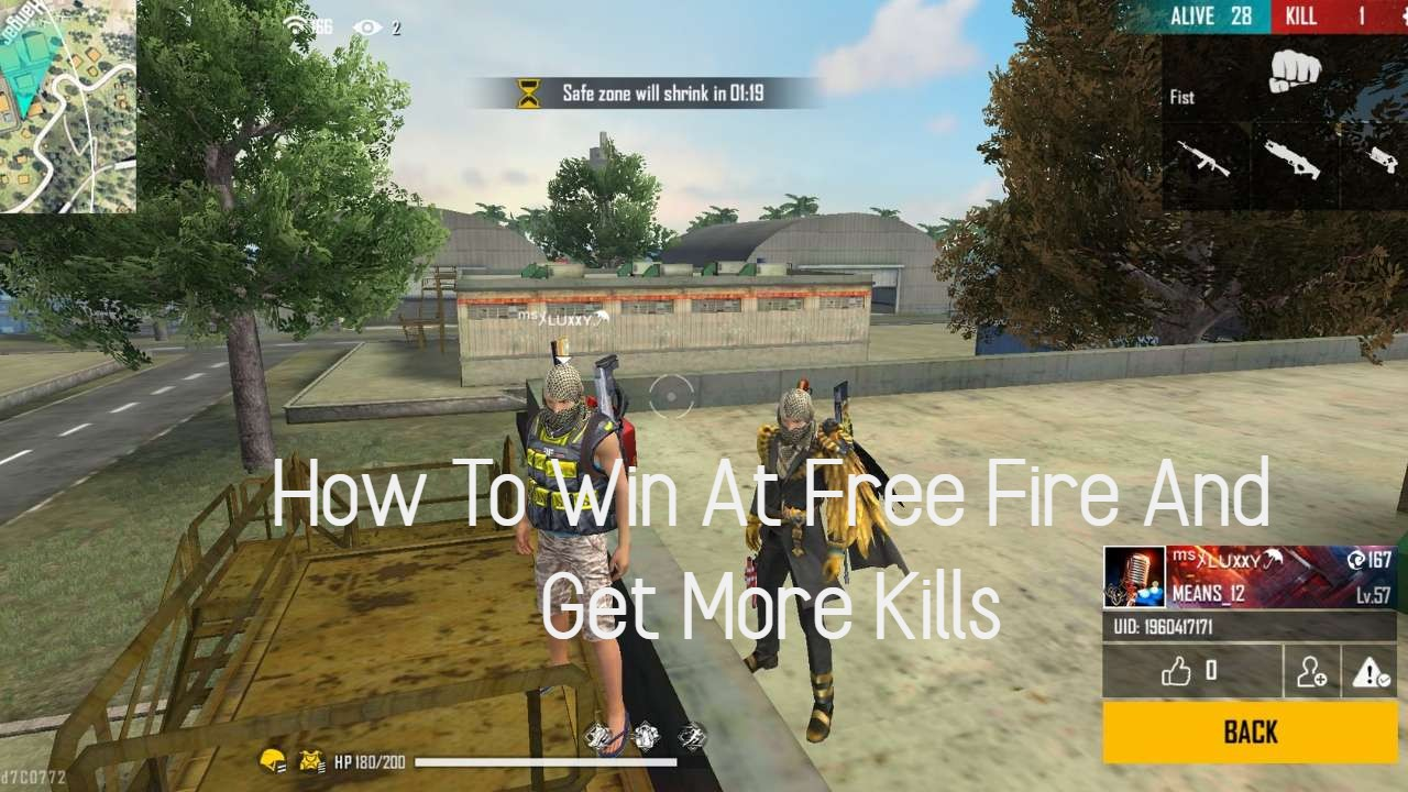 How To Win At Free Fire And Get More Kills